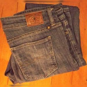 Women's Lucky Brand Sweet Straight 10/30R Jeans